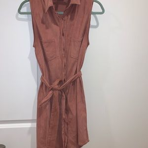 Alya Boutique Brand Faux Suede Dress